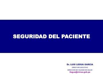 Seguridad del Paciente MR 2012 - Diresaloreto.gob.pe