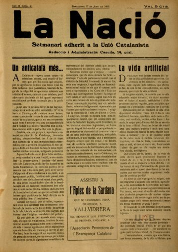 La Nació - Dipòsit Digital de Documents de la UAB