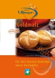 Goldmalz - MeisterMarken - Ulmer Spatz