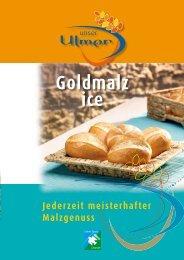 Goldmalz ice - MeisterMarken - Ulmer Spatz