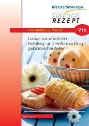ERFOLGS REZEPT - MeisterMarken - Ulmer Spatz