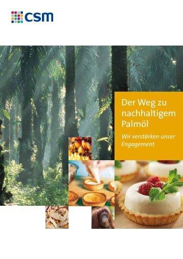 Der Weg zu nachhaltigem Palmöl - MeisterMarken - Ulmer Spatz