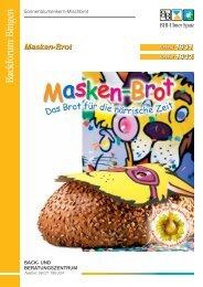 Masken-Brot - MeisterMarken