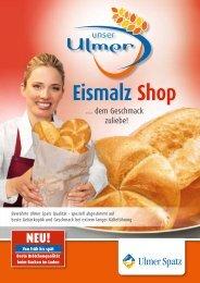 Eismalz Shop - MeisterMarken - Ulmer Spatz