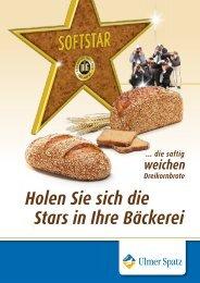 Holen Sie sich die Stars in Ihre Bäckerei - MeisterMarken
