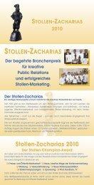 Stollen-Zacharias 2010 - MeisterMarken