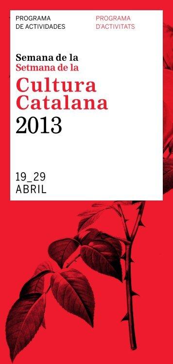 Cultura Catalana - Premsa - Generalitat de Catalunya