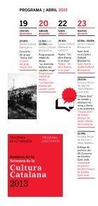 Cultura Catalana - Premsa - Generalitat de Catalunya - Page 6