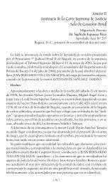 Anexo II Sentencia de la Corte Suprema de Justicia Sala de ... - ILSA