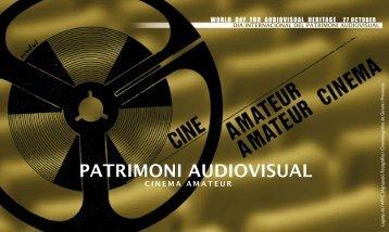 PATRIMONI AUDIOVISUAL - Ajuntament de Girona