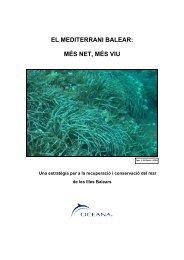 EL MEDITERRANI BALEAR: MÉS NET, MÉS VIU - Oceana