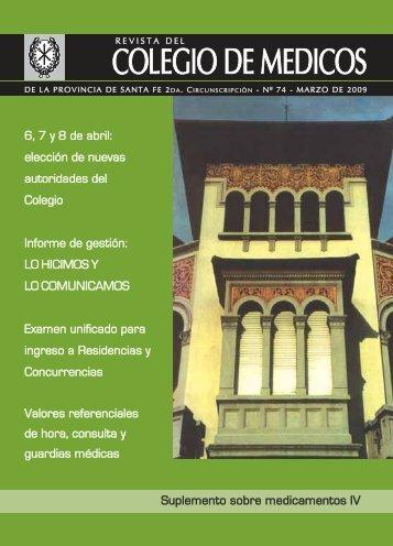 Haga click aquí para descargar la revista - colegio de medicos