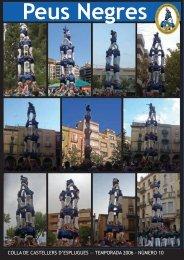 Peus Negres 10 - Colla de Castellers d'Esplugues