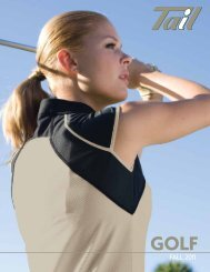 GOLF FALL 2011 - Tail Activewear For Women