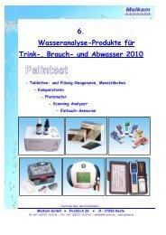 Palintest Pooltester Kupfer//pH//Alkalinit/ät