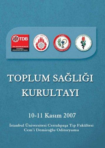 toplum sağlığı kurultayı_kapak_layersiz.TIF - Ana Sayfa | İstanbul ...
