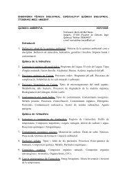 1. Definició i abast de la química ambiental. Historia de la química ...
