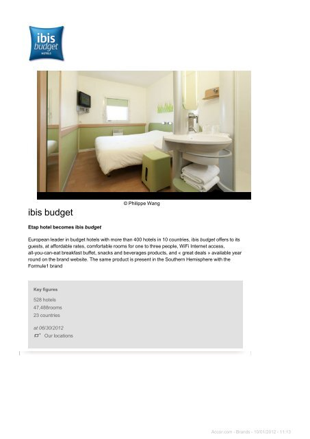 ibis budget - Accor