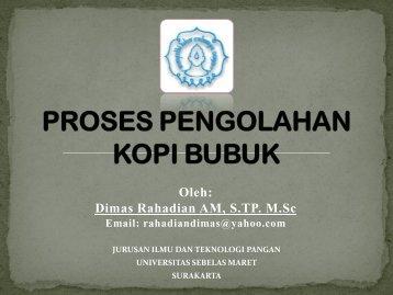 Download Proses Produksi Kopi Bubuk
