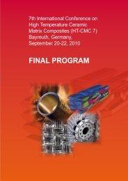 Final Program(pdf) - HT-CMC7