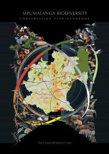 Mpumalanga Biodiversity Conservation Plan Handbook - bgis-sanbi