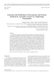 Extraction and Purification of Glucoamylase and Protease Produced ...