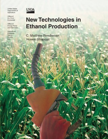 New Technologies in - US Department of Agriculture