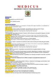 Medicus - Vol. XV (1) - Shoqata e Mjekëve Shqiptarë të Maqedonisë