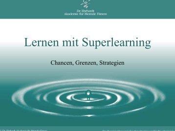Lernen mit Superlearning - Dr. Ehrhardt Akademie für Mentale Fitness