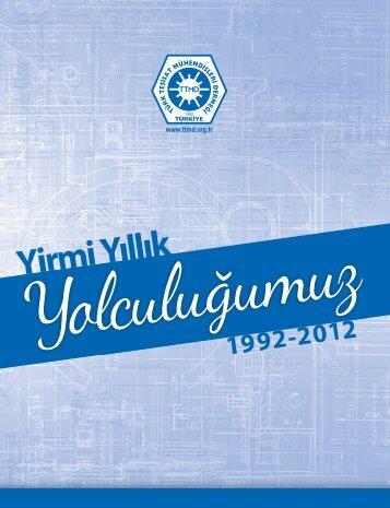 Y rm Yıllık 1992-2012 - TTMD