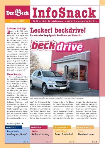InfoSnack - Der Beck