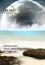 Mayıs - arad : : ankara ruhsal araştırmalar derneği