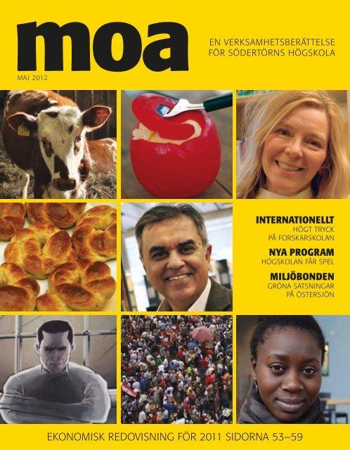 Moa - verksamhetsberättelse 2011 [pdf 7066 kB] - Södertörns ...