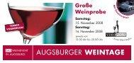 Augsburger Weintage - abc markets