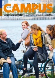 Master - Campus Helsingborg - Lunds universitet
