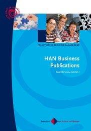 HAN Business Publications - Hogeschool van Arnhem en Nijmegen