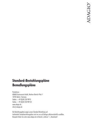 Barockebene   Bestuhlung - ADAGIO Berlin