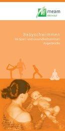 Babyschwimmen - MeAm Aktivital