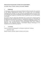 IMMUNHÄMATOLOGISCHE UNTERSUCHUNGSMETHODEN