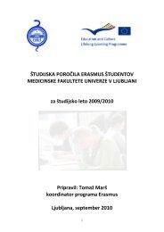 2009/2010 - Medicinska fakulteta