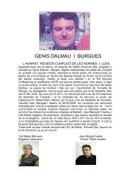 GENIS DALMAU I BURGUES - Fortea Estartit