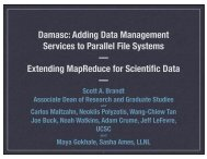 Damasc: Adding Data Management Services to Parallel File ...