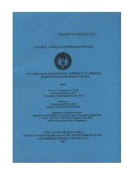 laporan penelitian penerapan ipteks sintesis dan karakterisasi ...
