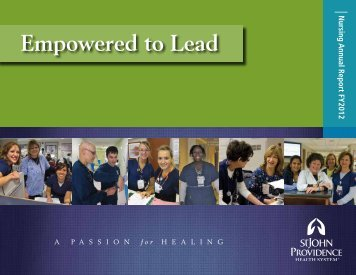 FY12 Annual Report - St. John Health System