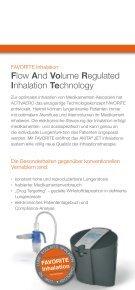 Flow And Volume Regulated Inhalation Technology - Activaero - Seite 2