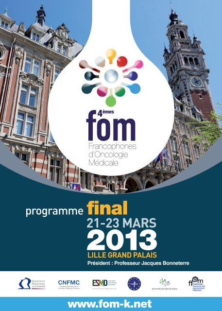 21-23 MARS - FOM | Francophones d'Oncologie Médicale