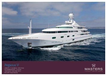 Pegasus V - Yacht Masters