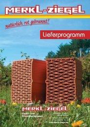 Lieferprogramm - Prospekt