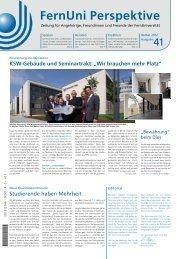 Nr. 41 / Herbst 2012 (pdf, 1 9 MB - Fernuniversität in Hagen