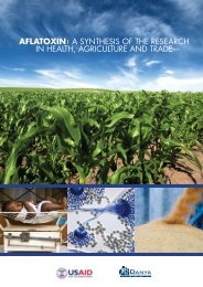 Aflatoxin: A Synthesis of the Research in Health, Agriculture and Trade